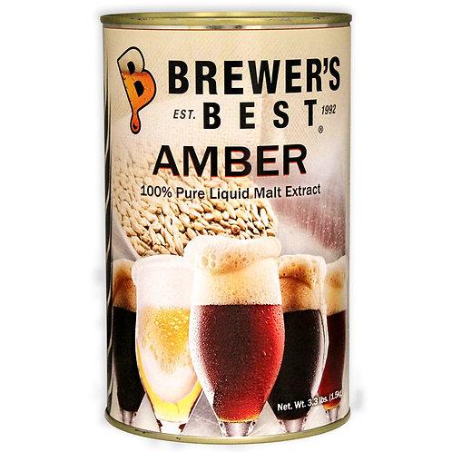 CBW Sparkling Amber Liquid Malt Extract, 3.3 lb