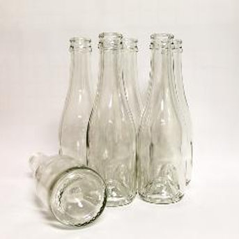 Case of 187ml Clear bottles, Case of 24