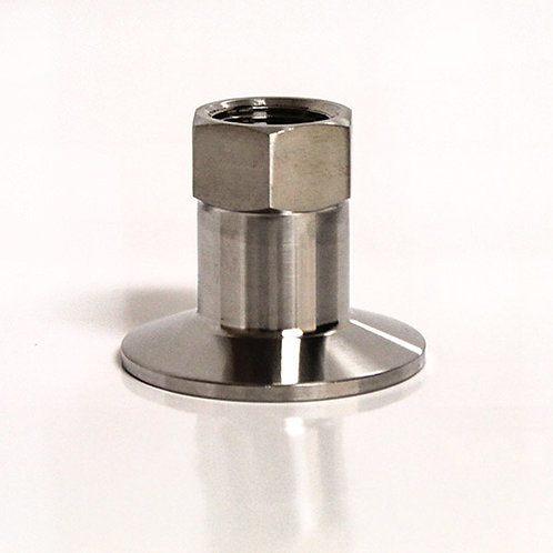 "Stainless Steel Tri-clamp Fitting - 1/2"" (Female)"