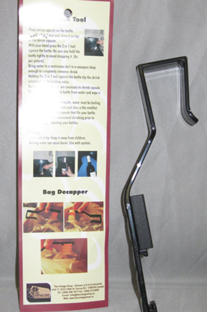The 2 in 1 Shrink Tool & Decapper