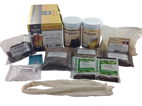 Whiskey Barrell Stout Ingredient Kit, 5 Gallon