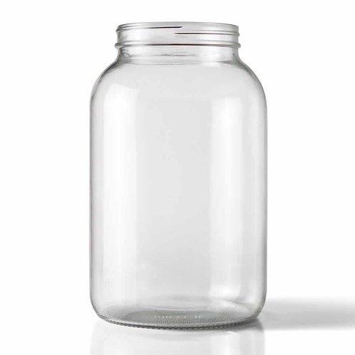 Wide Mouth Glass Fermenting Jug, 1 Gallon