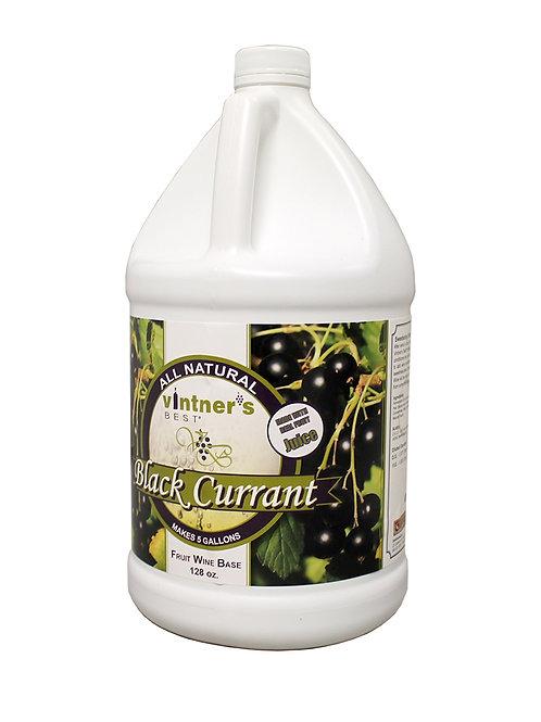 Black Currant Wine Base, 1 gallon
