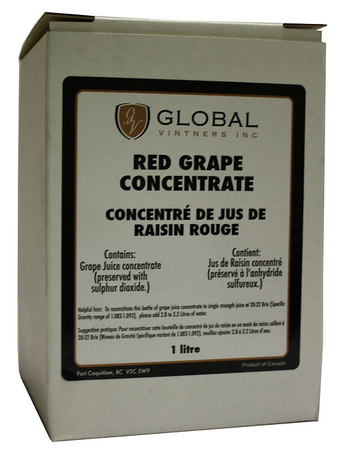 Red Grape Concentrate, 1 Liter