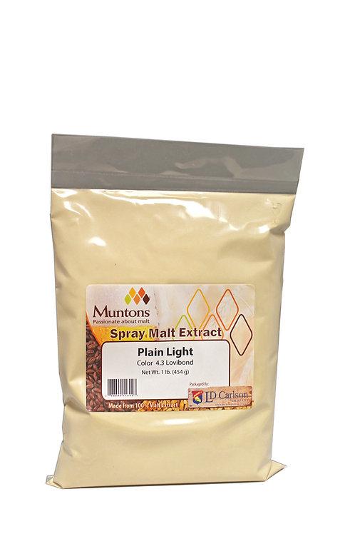 Muntons Plain Light Dry Malt Extract, 1 lb  bag