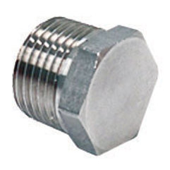 """1/2"""" Stainless Steel Hex Plug for Kettles"""