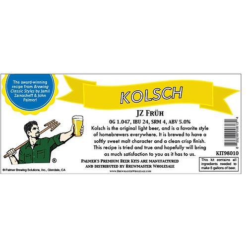Palmer Premium Beer Kits - Kolsch