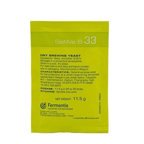 Fermentis - SafAle S-33