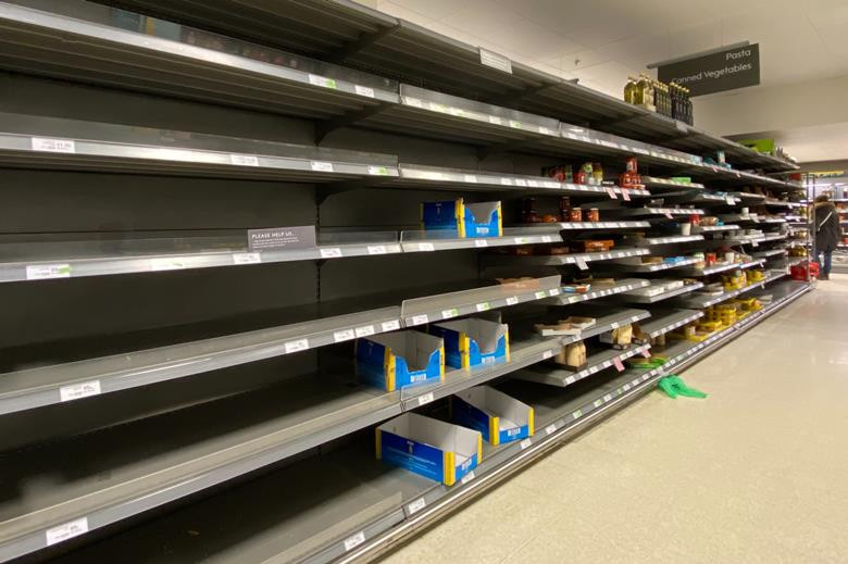 No-deal Brexit will cause food shortages worse than coronavirus panic buying