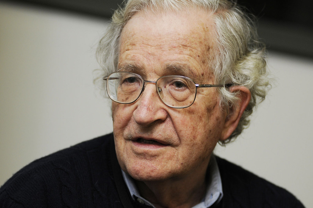 Optimism is a strategy for making a better future: Noam Chomsky