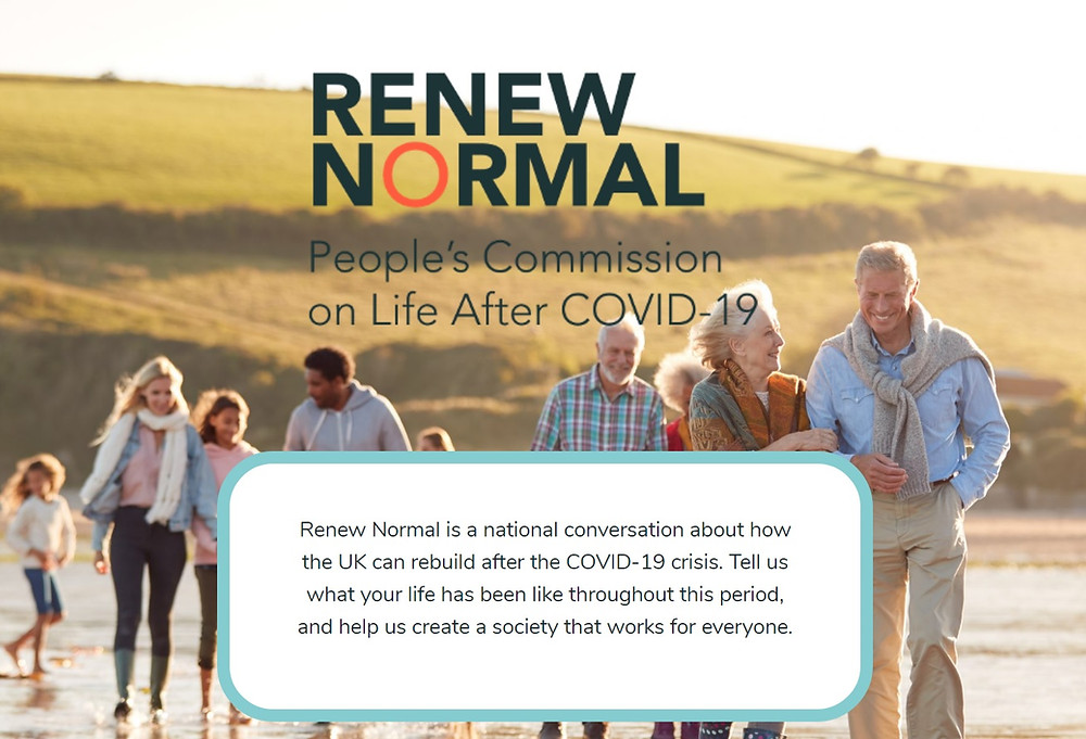 Demos want to Renew Normal: how should life post-Covid be?