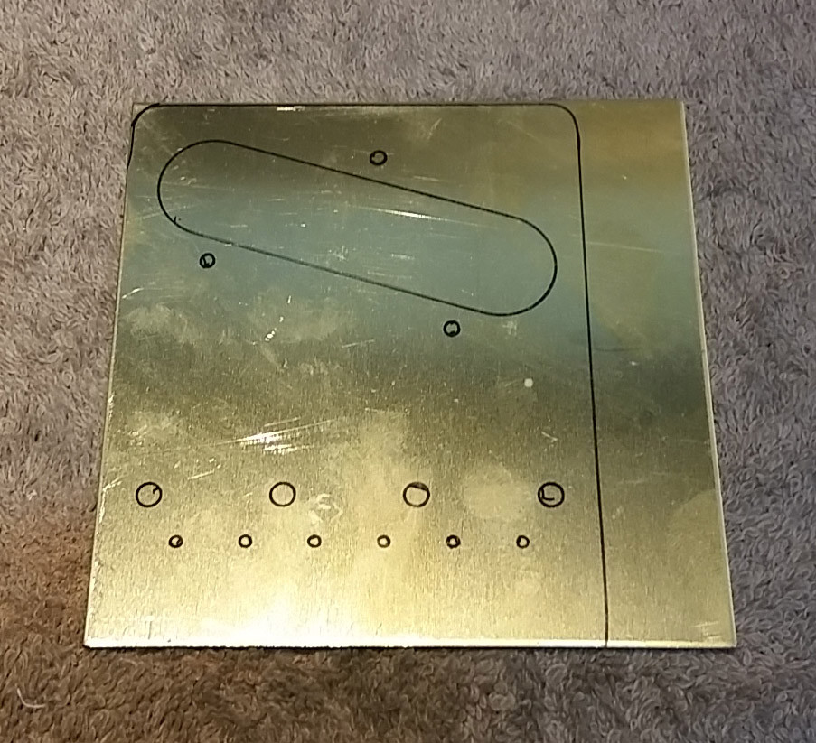 Custom Brass Bridge Plate