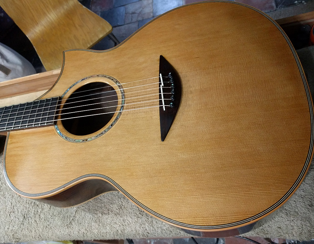 Acoustic refinish complete