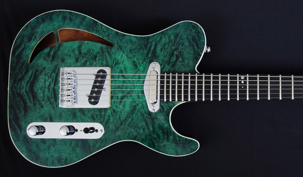 "RLP Sovereign with Bare Knuckle ""Yardbird"" Pickups"