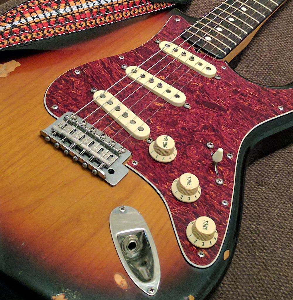 62RI Strat with Bare Knuckle '59s