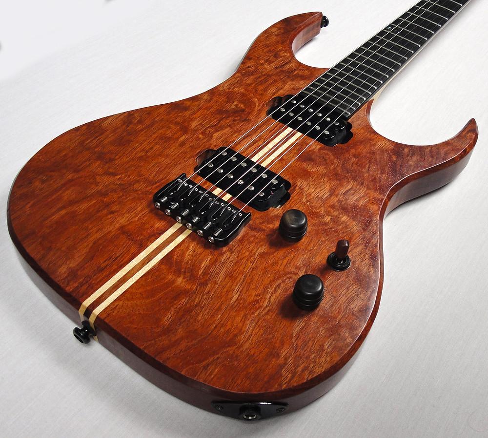 Sentinel Custom Guitar Build