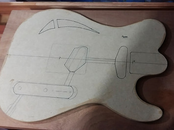 Guitar build diary - part I
