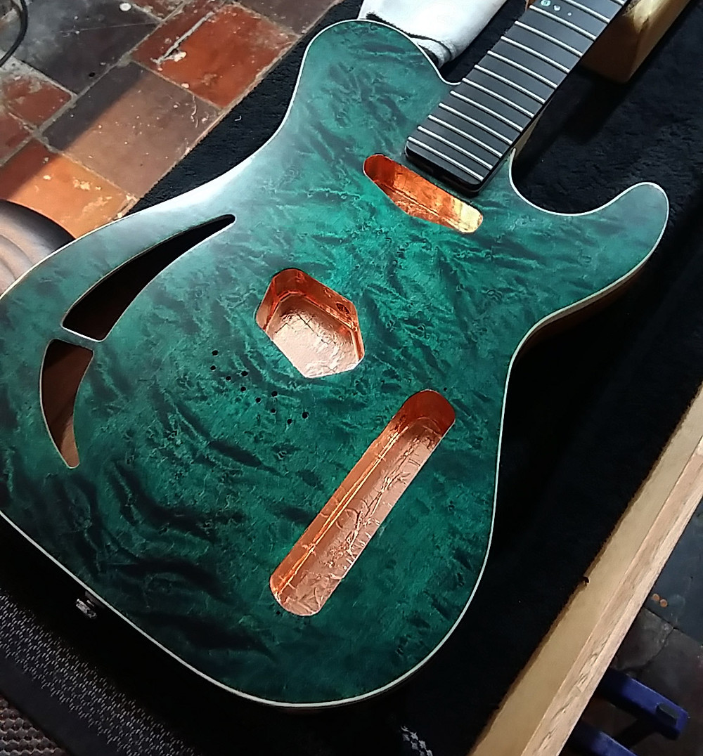 Custom Guitar Finishing