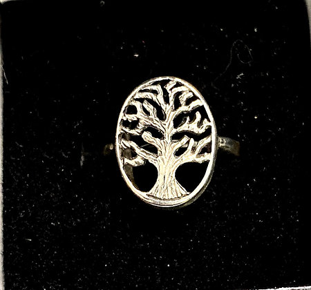 Tree of Life Ring (Oval)