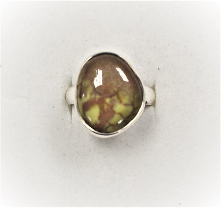 Free Form Jasper Ring