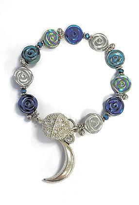 Roses in Moonlight Bracelet
