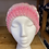 Thumbnail: Pink & Black Hearts Knit Hat