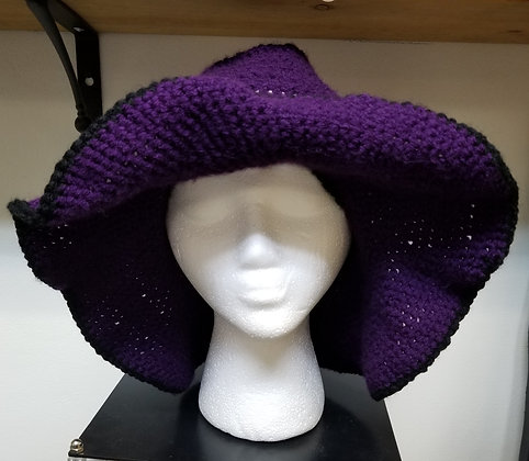 Crochet Boho Floppy Hat