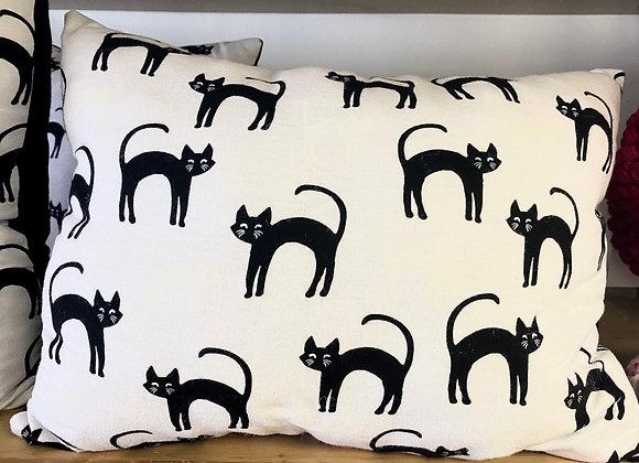 """Glowing Cat Pillow (18"""" x 13"""")"""