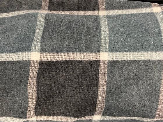 Shades of Grey Oversized Fleece Throw Blanket