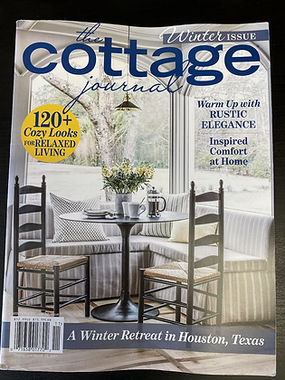 The Cottage Journal:  Winter Edition