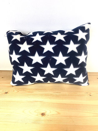 "Stars Fleece Accent Pillow (13"" x 15"")"