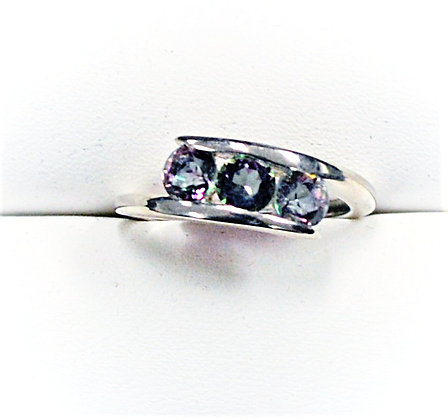 Mystic Topaz Bypass Ring