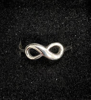 Infinity Ribbon-Style Ring