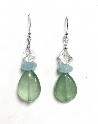River Mermaid's Earrings