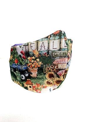 Cotton Mask (Cottage Farm Fall)
