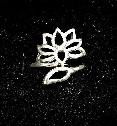 Adjustable Lotus Ring