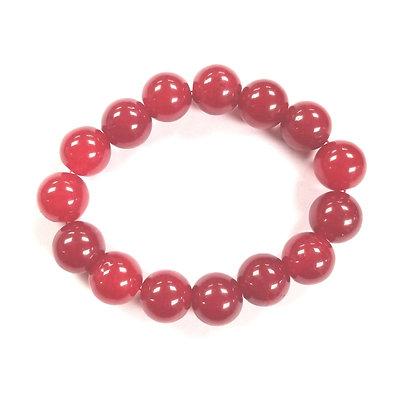 Candy Shop Bracelet:  Cherry Sour Jade
