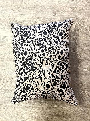 """Hidden Giraffe Pillow (15"""" x 13"""")"""