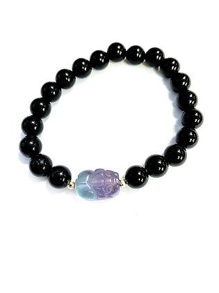 Pixiu Bracelet (Obsidian)