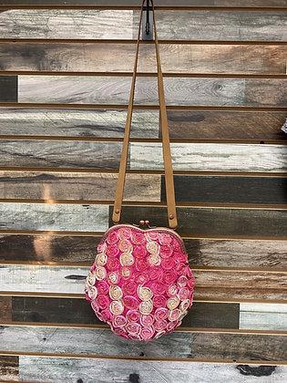 Rose Bouquet Framed Purse