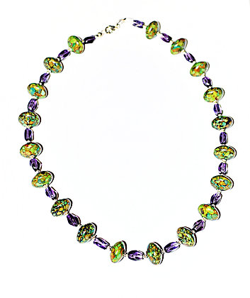 Violet Meadow Necklace I