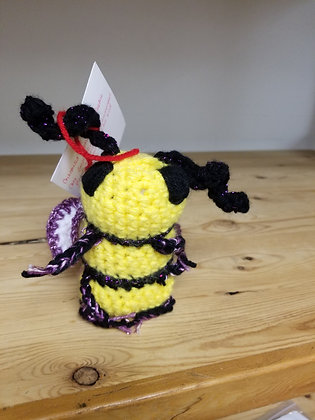 Queen Bee Plushie