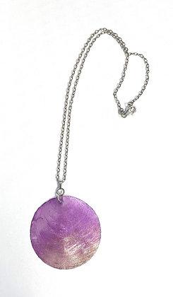 Capiz Shell Pendant Necklace