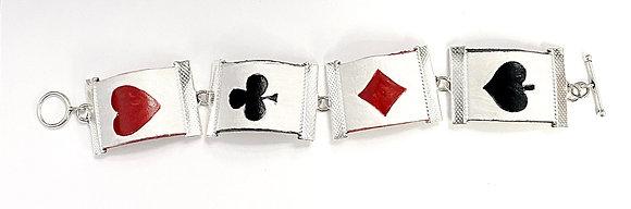 Suits Link Bracelet (Leather)