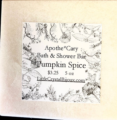Pumpkin Spice Bath& Shower Bar