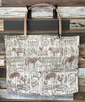 Farmers Market Tote Bag