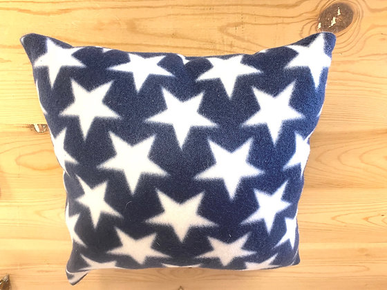 Stars Fleece Accent Pillow