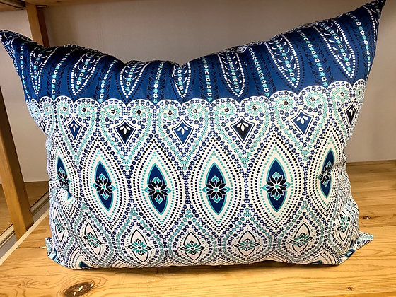 Large Boho Medallion Pillow