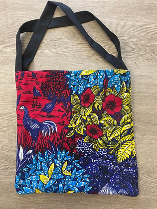 Paradise Garden Tote (Red)