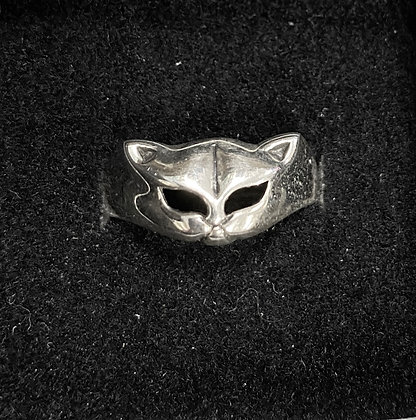 Cat Face Ring